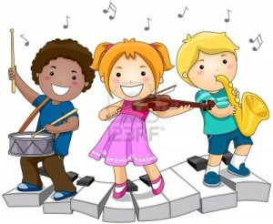 7615543-children-playing-with-musical-instruments