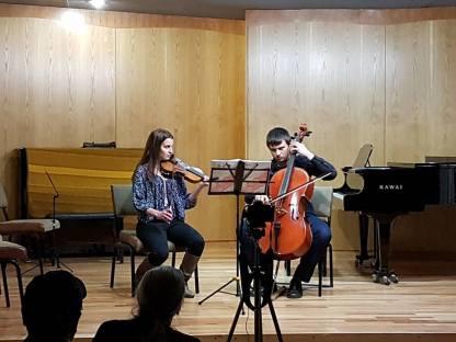 Hungarian Dance Brahms - Ray & Caitlin
